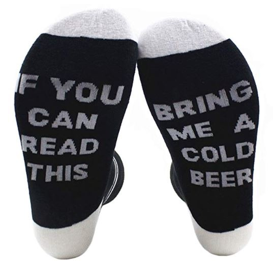 Mens Funny Christmas Socks