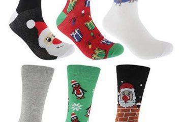 Mens Festive Christmas Socks