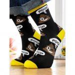 Poo Emoji Socks