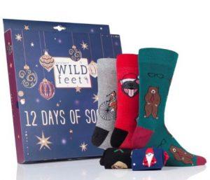 men's advent sock calendar 12 Pairs