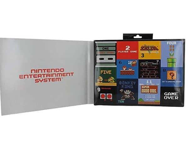 Nintendo Advent Calendar 12 Days of Socks Box