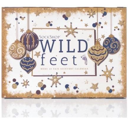 Wild Feet Christmas advent calendar sock gift