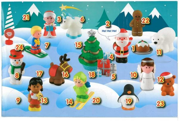HappyLand Advent Calendar Numbers