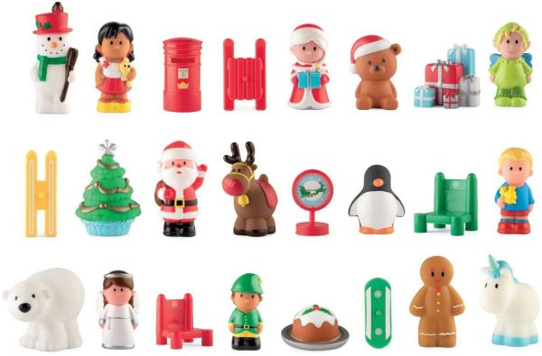 Advent Calendar Toys inside
