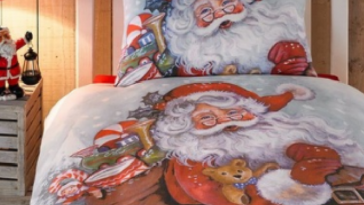 Children's Christmas single duvets