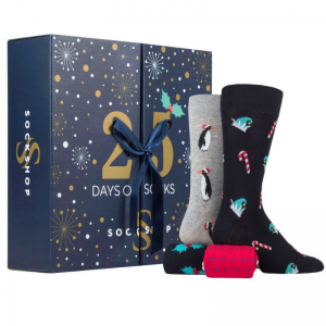 Men's Advent Calendar Sock
